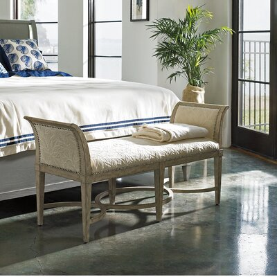 Coastal Living™ by Stanley Furniture Resort Surfside Wooden Bedroom Bench