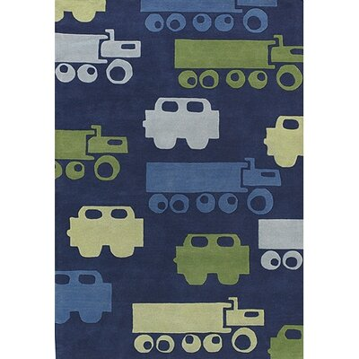 Chandra Rugs Kids Car Kids Rug