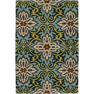 Chandra Rugs Amy Butler Multicolored Floral Rug