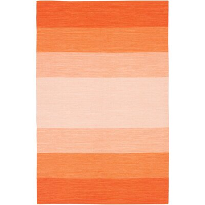 Chandra Rugs India Orange Striped Rug