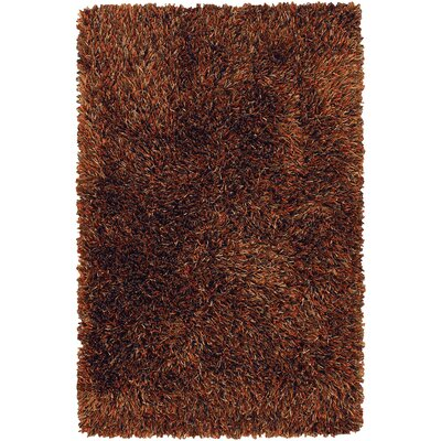 Chandra Rugs Iris Dark Brown Rug