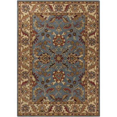 Chandra Rugs Bajrang Blue Rug