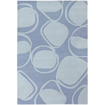 Chandra Rugs Inhabit Designer Light Blue Rug