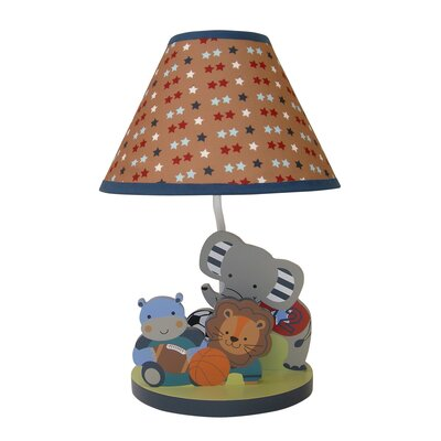Bedtime Originals Teammates Lamp with Shade and Bulb