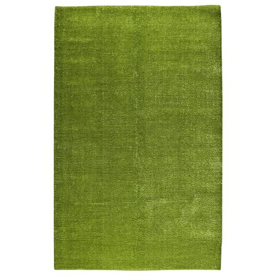 Hokku Designs Claret Green Rug