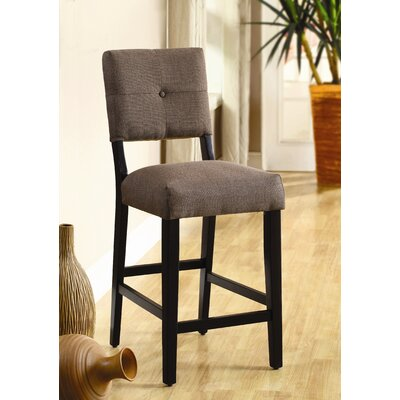Grant Upholstered Counter Height Dining Chair in Brown (Set of 2)