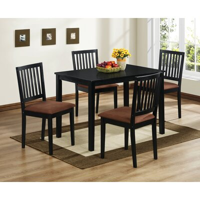 Hokku Designs Downtown 5 Piece Dining Set