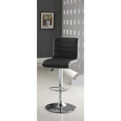 Felicity Leatherette Adjustable Bar Stool