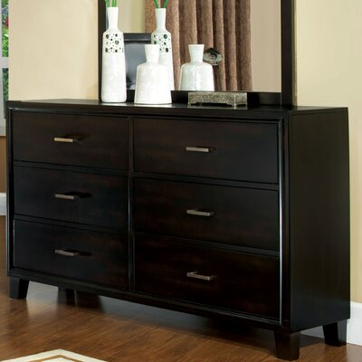 Hokku Designs Laguna 6 Drawer Dresser