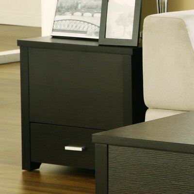 Hokku Designs Voss Storage Trunk Style End Table