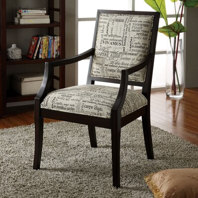 Brooke Cotton Arm Chair