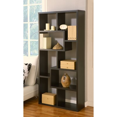 Hokku Designs Masima Unique Bookcase / Display Cabinet in Black