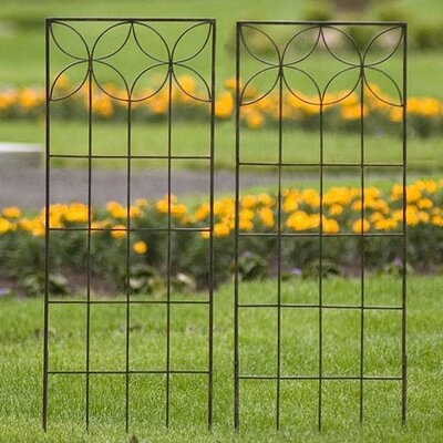 H. Potter Set of Two Small Flower Trellises