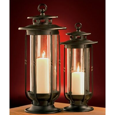 H. Potter Case Iron Lantern (Set of 2)
