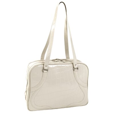 Roma Ladies' Leather Laptop Tote