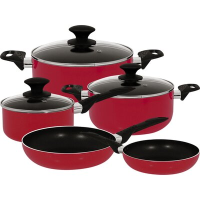 Strain Aluminum 8-Piece Cookware Set