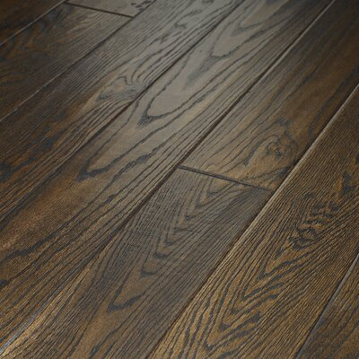 "Shaw Floors Montgomery 5"" Solid Red Oak in Roan Brown"