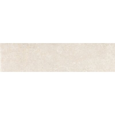 "Shaw Floors Padova 3"" x 12"" Bullnose in Blanco"