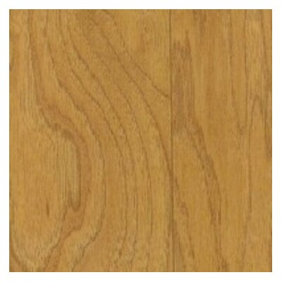 "Shaw Floors Jubilee Honey 3-1/4"" Engineered Hickory Flooring in Antique Gold"