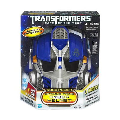 Hasbro Transformer Dark of The Moon Robo Power Optimus Prime Helmet