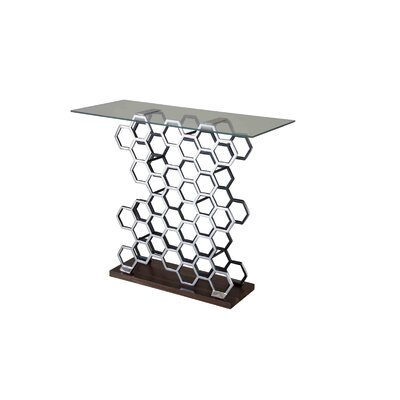 Sheldonwine Holder Console Table