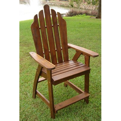 International Caravan Acacia Adirondack Chair