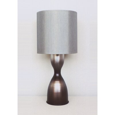 Babette Holland Lulu Table Lamp in Smoke with Platinum Shade