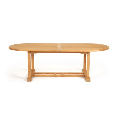 Caluco LLC Teak Oval Dining Table