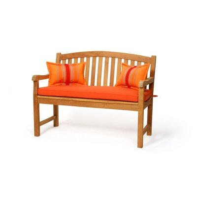 Caluco LLC Teak Crown Garden Bench