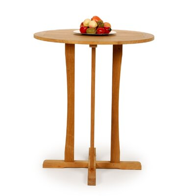 Caluco LLC Teak Round Bar Table