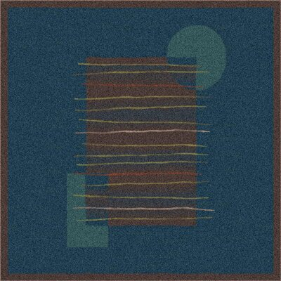 Milliken Pastiche Horizon Blue/Dark Brown Rug