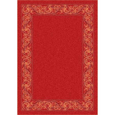 Modern Times Sonata Indian Red Rug