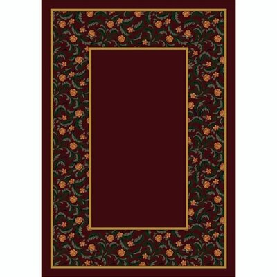 Milliken Design Center Latin Rose Garnet Rug