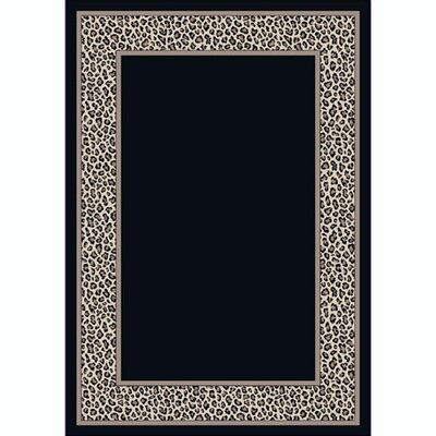 Design Center Leopold Snow Leopard Rug