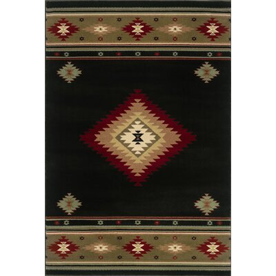 Oriental Weavers Sphinx Hudson Black/Green/Red Rug