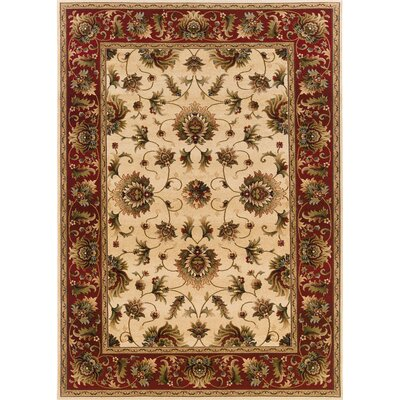Oriental Weavers Sphinx Knightsbridge Beige/Red Rug