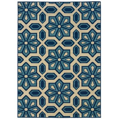 Oriental Weavers Sphinx Caspian Ivory/Blue Rug