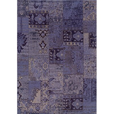 Oriental Weavers Sphinx Revival Purple/Gray Persian Rug