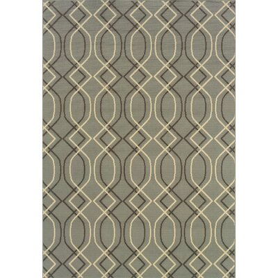 Bali Blue/Grey Geometric Rug