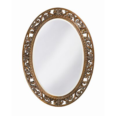 Suzanne Wall Mirror in Antique Bronze