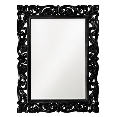 Howard Elliott Chateau Mirror in Black