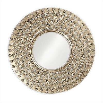 Symphony Mirror with Silver Finish