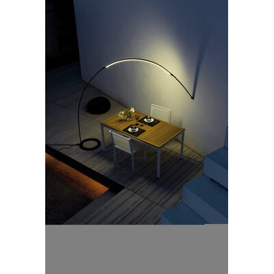 Vibia Halley Outdoor Arc Lamp in Black