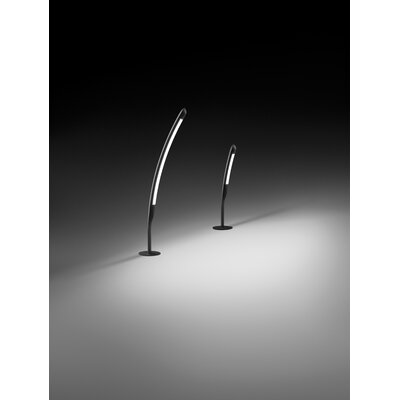 "Vibia Halley 26"" Outdoor Path Light in Black"