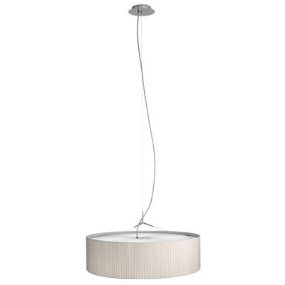 Vibia Plis 4 Light Drum Foyer Pendant