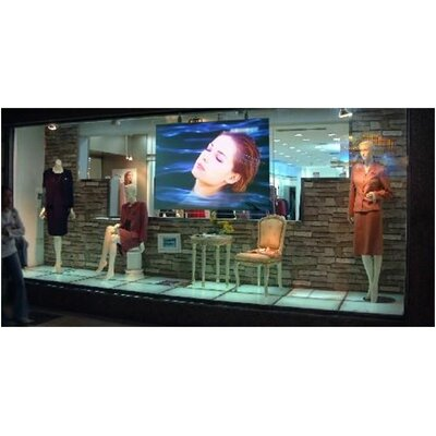 "Elite Screens Insta-RP Series Rear Projection Screen - 4:3 Format 99"" Diagonal"