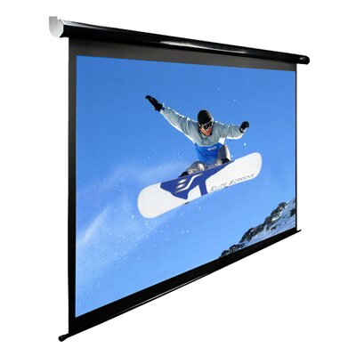 "Elite Screens MaxWhite Spectrum Series Electric Screen - HDTV Format- 100"" Diagonal"