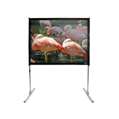 "Elite Screens CineWhite 135"" Overall Width QuickStand Folding Screen - 150"" Diagonal"