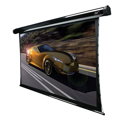 "Elite Screens CineTension2 Electric Tension Rear 84"" 16:9 AR Projection Screen in Black Case"