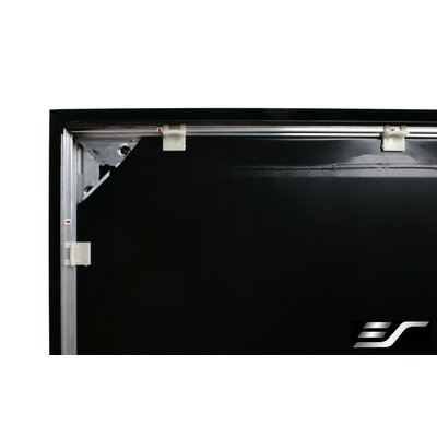Elite Screens Sable Frame Wall Mount Fixed Frame Projection Screen